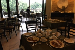 Breakfast at the Mount Meru hotel