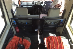More views inside a typical Safari Truck