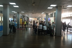 Inside the Arusha Airport