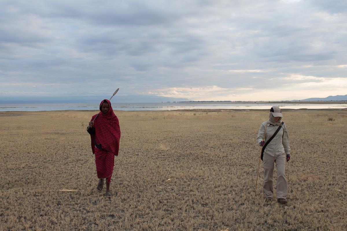 Lake Manyara walk