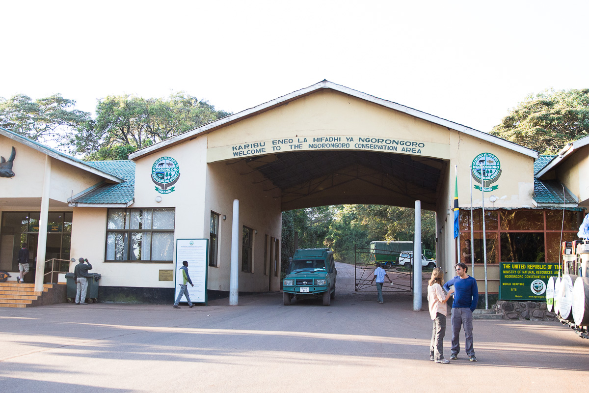 Ngorongoro Crater Entrance