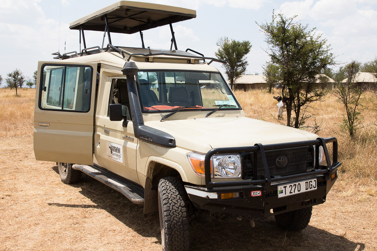 Our Safari LandCruiser